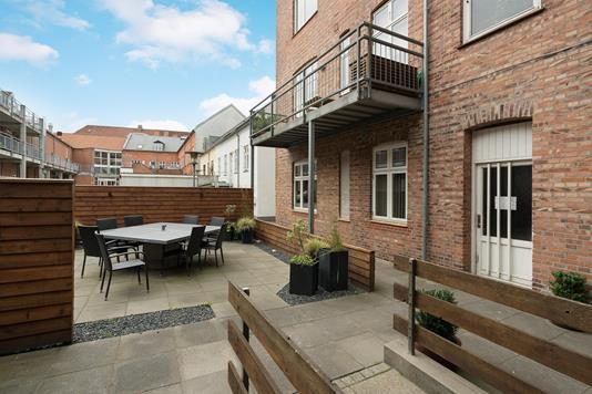 Ejerlejlighed på Kronprinsensgade i Esbjerg - Terrasse