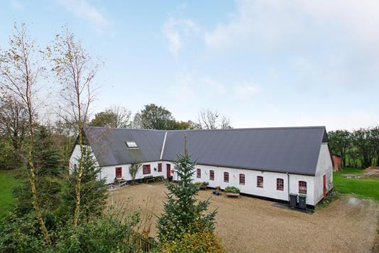 Villa på Hellevej i Årre - Ejendommen