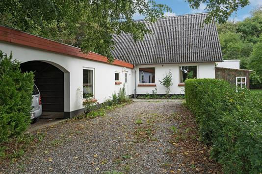 Villa på Solbakken i Ansager - Ejendommen
