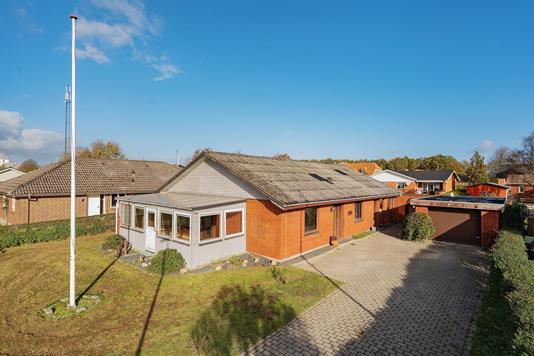 Villa på Solvangen i Varde - Ejendommen