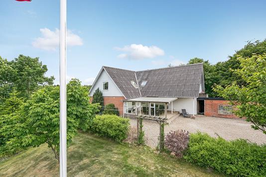 Villa på Vejlevej i Bording - Mastefoto