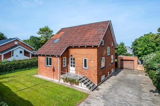Villa på Søndergade i Bording - Ejendommen