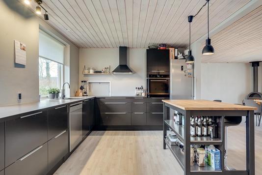 Villa på Ahornvej i Bording - Køkken
