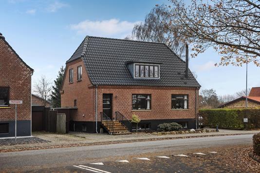 Villa på Møllegade i Ikast - Ejendommen