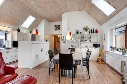 Villa på Søndergade i Bording - Alrum