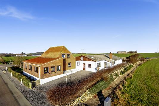Villa på Houlindvej i Lemvig - Mastefoto