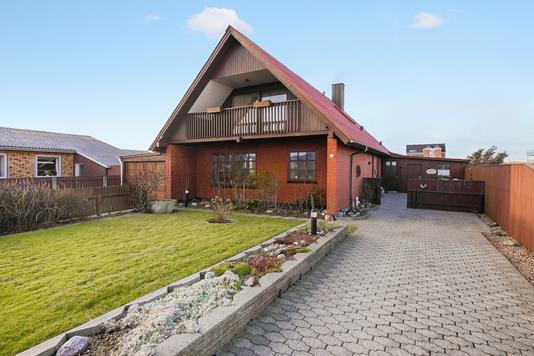 Villa på Lærkevej i Thyborøn - Ejendommen