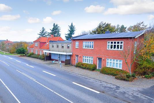 Villa på Fabjergvej i Lemvig - Facade