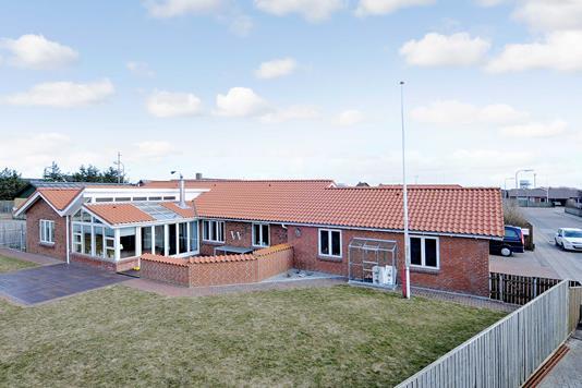 Villa på Sprogøvej i Thyborøn - Mastefoto
