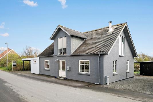 Villa på Øster Nørbyvej i Lemvig - Facade