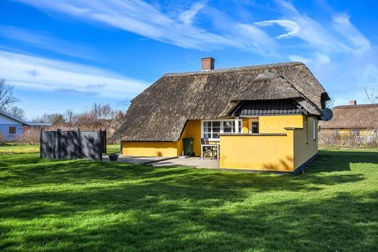 Fritidsbolig på Helmklit i Ulfborg - Terrasse