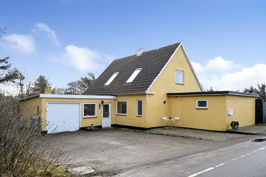 Villa på Vedersø Klitvej i Ulfborg - Ejendommen