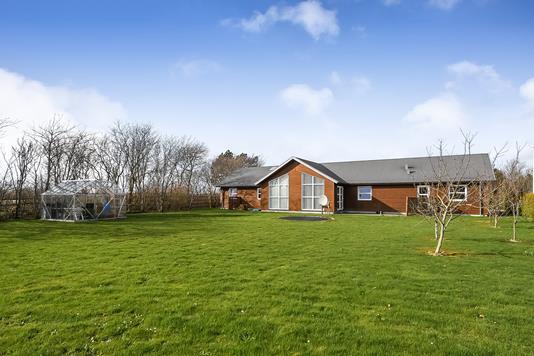 Villa på Hyldevej i Vemb - Have