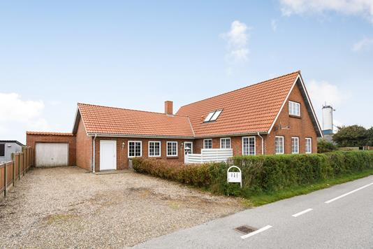 Villa på Vesterhavsvej i Ulfborg - Ejendommen