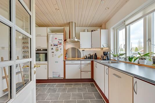 Villa på Nørrealle i Videbæk - Køkken