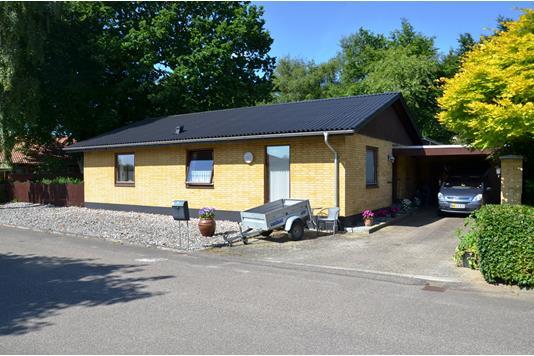 Villa på Skovvænget i Videbæk - Facade