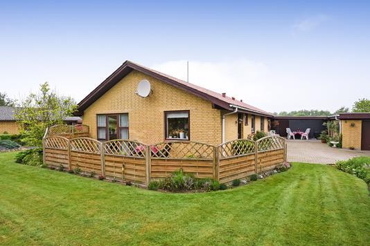 Villa på Kærager i Spjald - Ejendommen