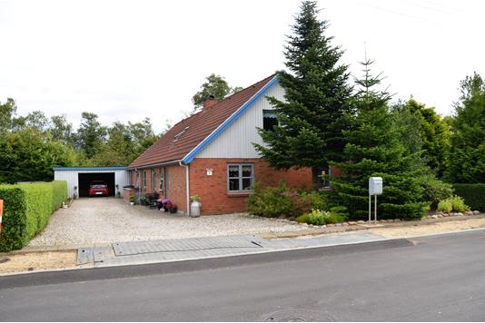 Villa på Askovvej i Ørnhøj - Facade