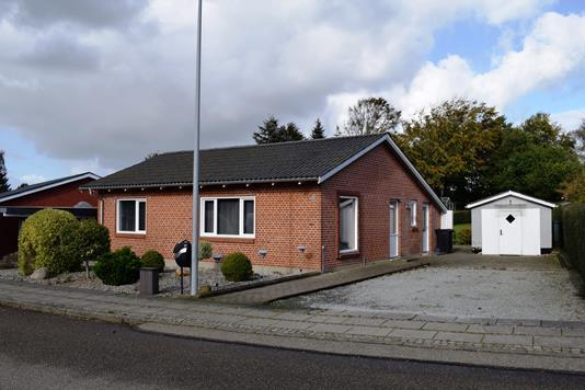 Villa på Dalsvinget i Videbæk - Facade