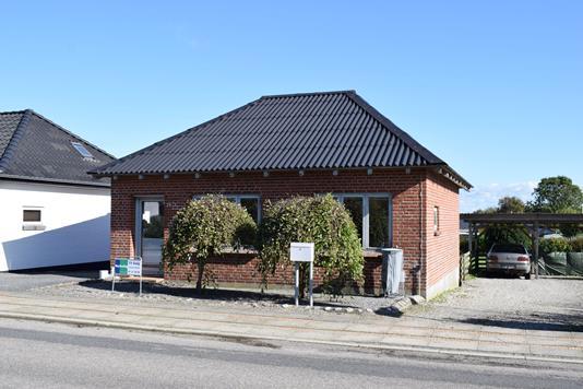 Villa på Vorgodvej i Videbæk - Facade