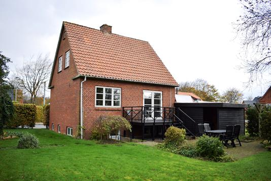 Villa på Nørregade i Videbæk - Facade