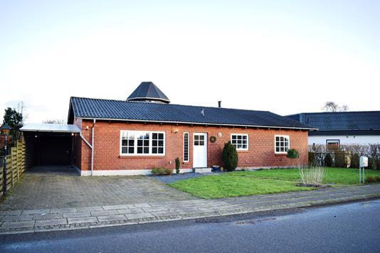 Villa på Birkevænget i Videbæk - Facade