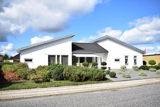 Villa på Solsøhedevej i Videbæk - Facade