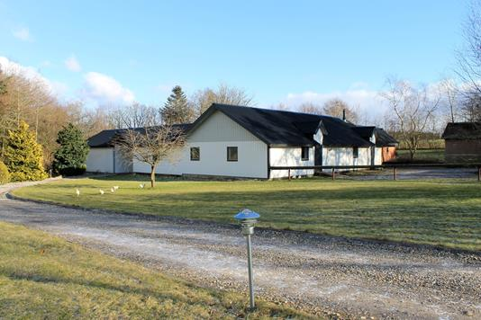 Villa på Væggerskildevej i Spjald - Facade