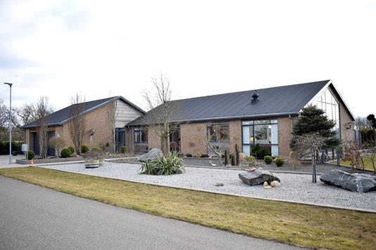 Villa på Ådraget i Spjald - Facade