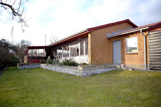 Villa på Gl Kongevej i Videbæk - Bag facade