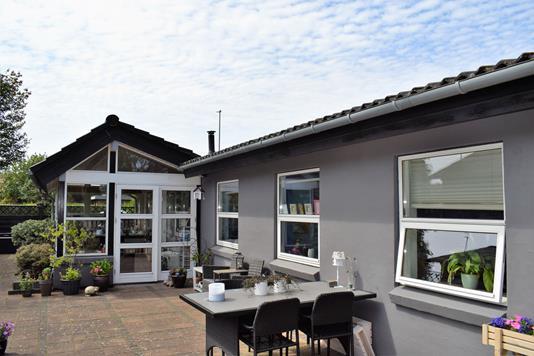 Villa på Søndergade i Videbæk - Facade