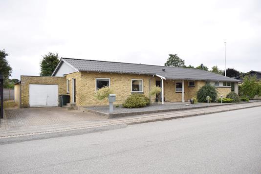 Villa på Sjællandsgade i Aulum - Facade