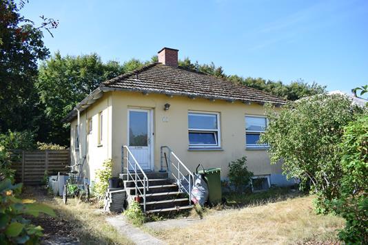 Villa på Bredgade i Videbæk - Facade