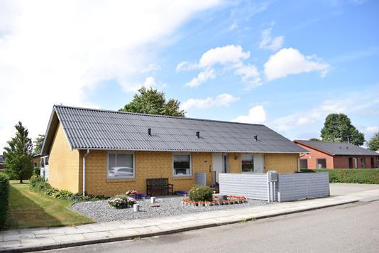 Villa på Havrevænget i Spjald - Facade