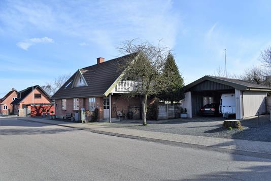 Villa på Vestergade i Spjald - Facade