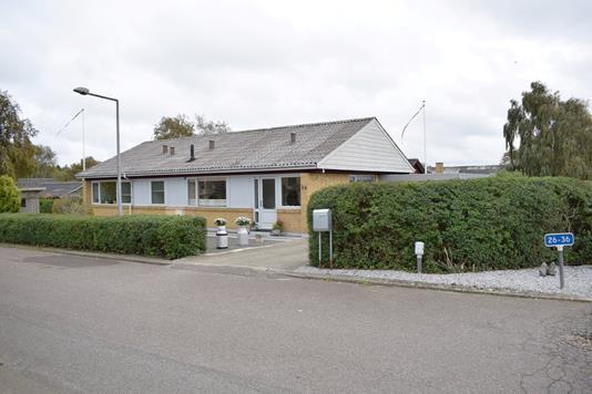 Villa på Anemonevej i Videbæk - Facade