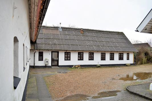 Villa på Bjerregårds Alle i Kibæk - Facade
