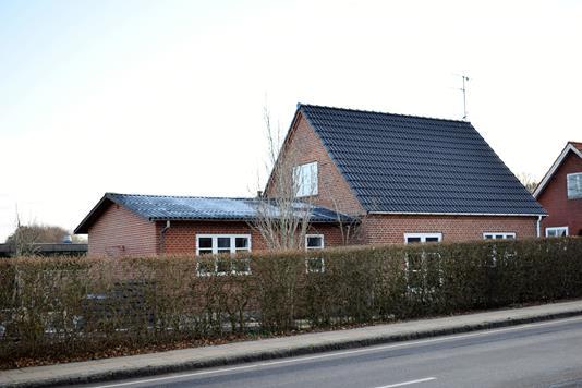 Villa på Bardevej i Videbæk - Facade