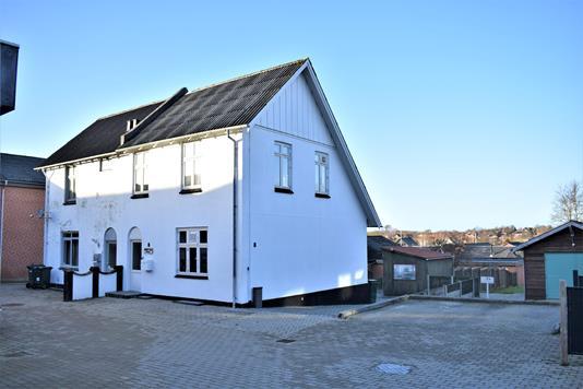 Villa på Engvej i Aulum - Facade