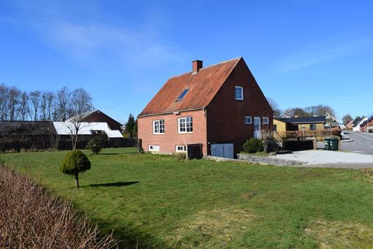 Villa på Grønbjergvej i Ørnhøj - Facade