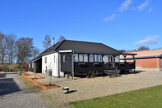 Villa på Skolevej i Videbæk - Facade