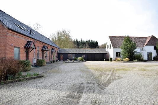 Landejendom på Nr Viumvej i Videbæk - Facade