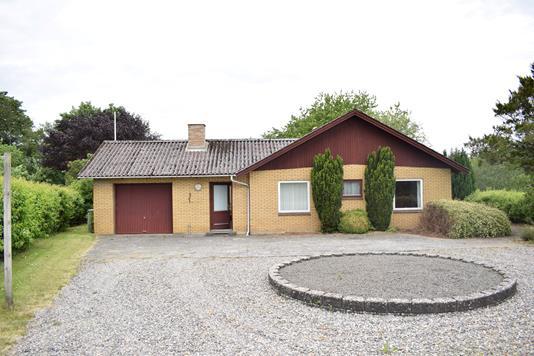 Villa på Muldbjerg Byvej i Spjald - Facade