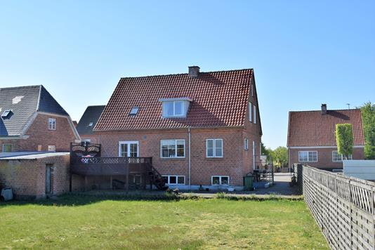 Villa på Bredgade i Videbæk - Have