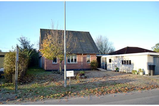 Villa på Bandsbølvej i Hemmet - Facade