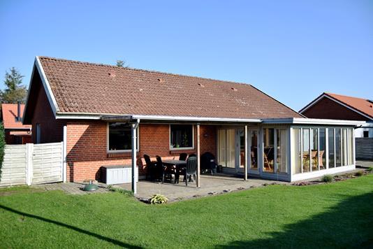 Villa på Brogårdsvej i Tarm - Facade