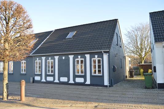 Villa på Storegade i Tarm - Facade