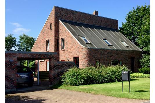 Villa på Parkallé i Tarm - Facade