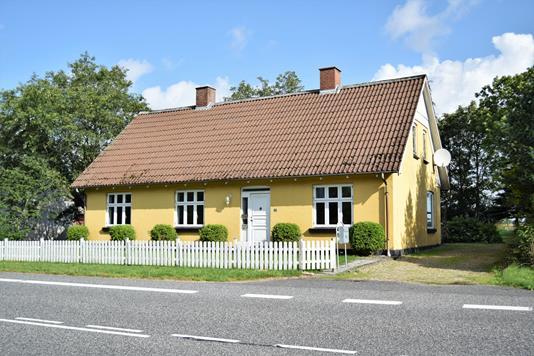 Villa på Ørbækvej i Tarm - Facade