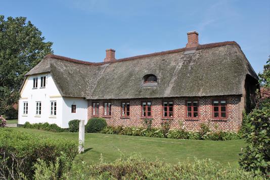 Villa på Anerbjergevej i Hemmet - Facade